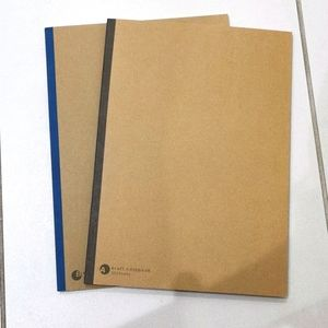 2 kraft notebooks